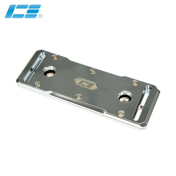 ICE-4CH 四通道内存水冷头 - 全铜电镀版