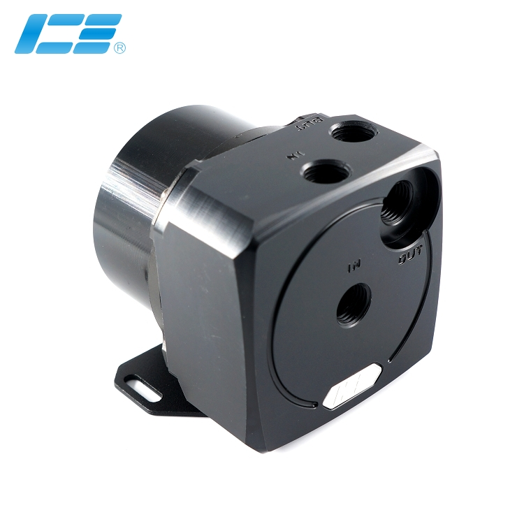 ICE-D5 高性能D5水泵上盖 -酷黑版+盔甲套装