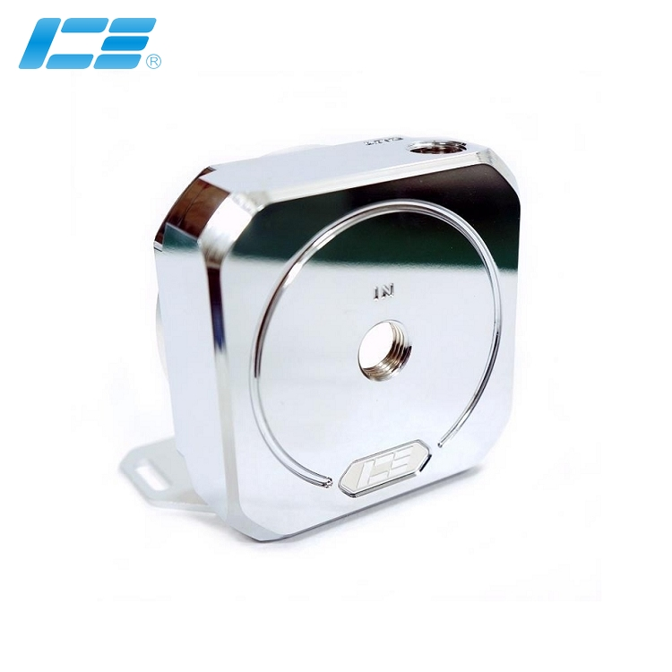ICE-D5 高性能D5水泵上盖 - 纯铜电镀