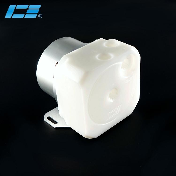 ICE-D5 高性能D5水泵上盖 - 炫白版+盔甲套装