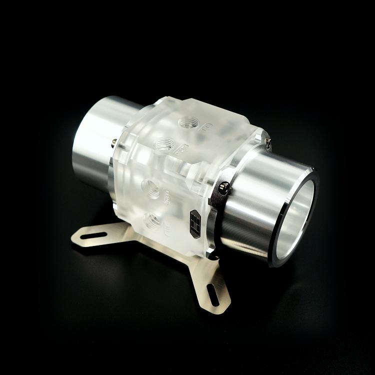 ICE-D5E 双D5水泵串连泵盖 - EVO透明版