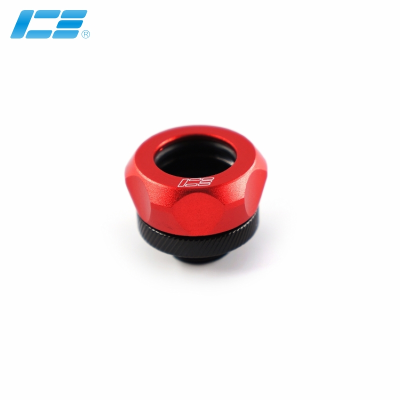 硬管快拧接头-14mm-艳红
