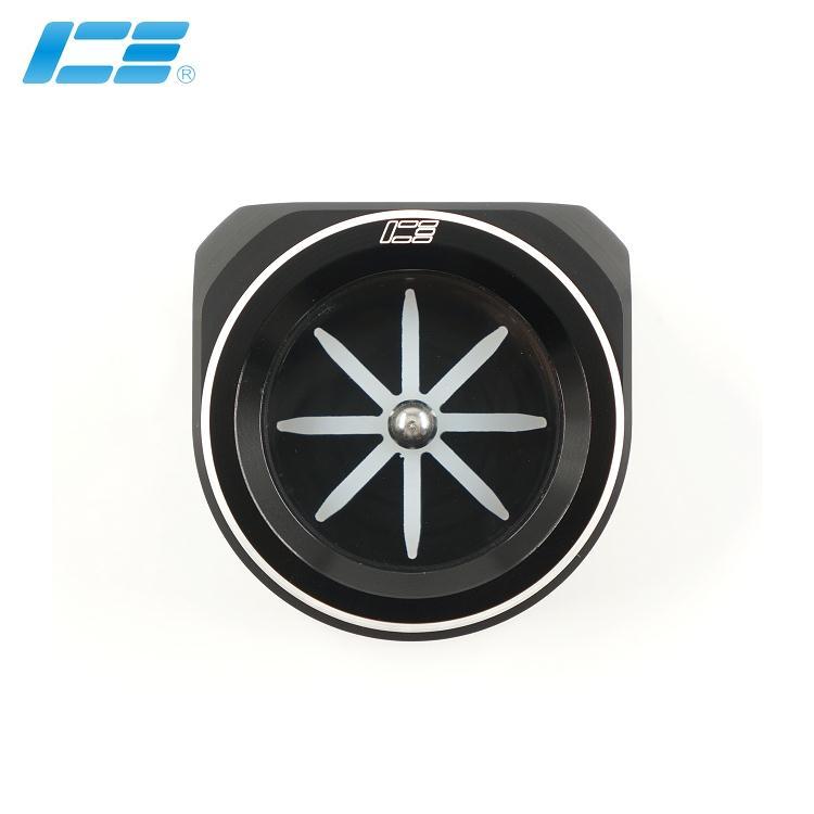 ICE-FM-BK  玻璃水流指示器 - 黑色