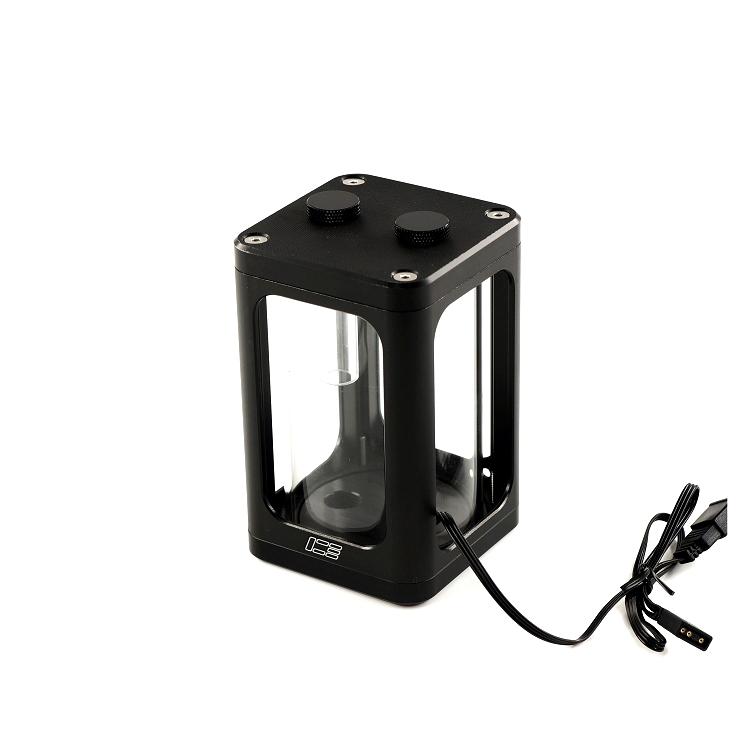 ICE-RX7 幻彩玻璃水箱  120黑色