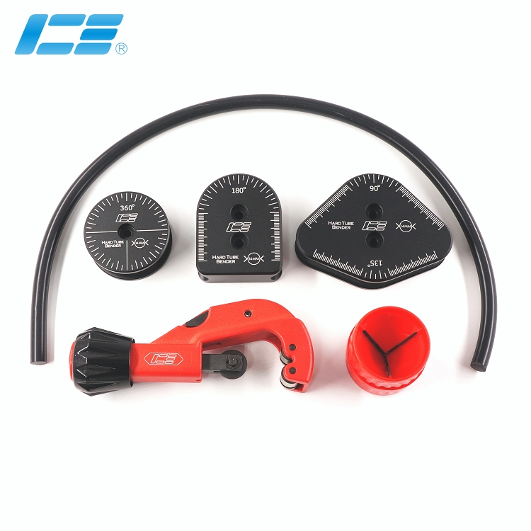 ICE-HTB-41 水冷硬管弯管工具套件6合1, 14mm外径适用