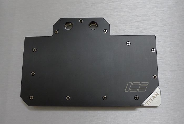 GTX Titan泰坦显卡一体水冷头 ---POM电镀版