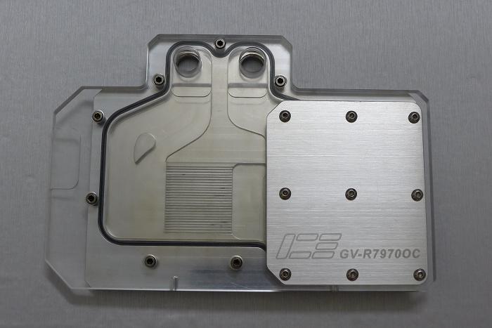 技嘉GV-R7970OC-3GD 显卡一体水冷头 ---透明版